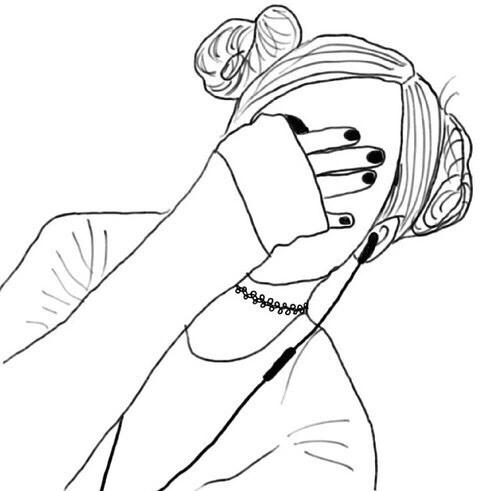 Alternative black girl finger fucks her holes