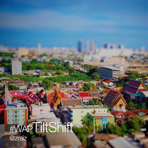 Photo editing with Tilt Shift