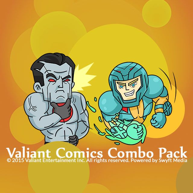Valiant comics combo pack