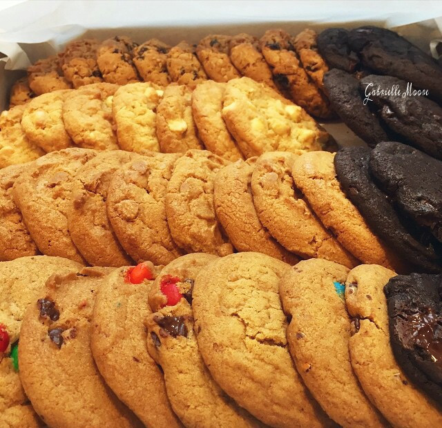 Sugar, Chocolate, Oatmeal, Macadamia Nut, M&M Cookies.  #Cookies #food #love