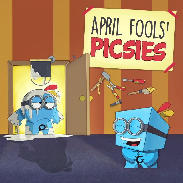 April Fools' picsies clipart