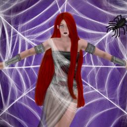 dcspiderweb draw drawing art