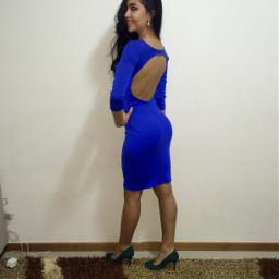 dress party blue