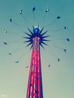 fun fair sixflags sky scream