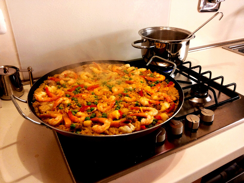 I can't quit you, babe. Led Zeppelin_____________Paella Valenciana, food, ciao ...
