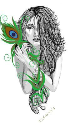 dcpeacock art digitalart drawing draw