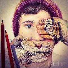 creative drawing pencil art