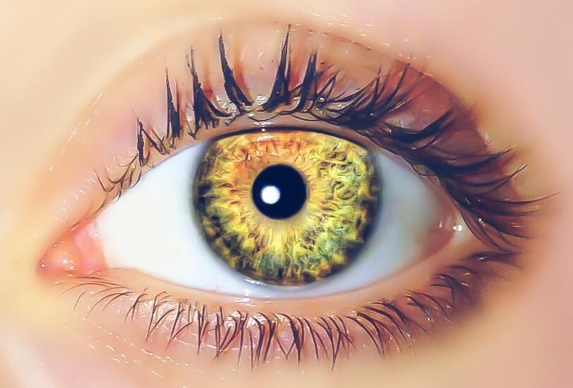 My daughters eye💗 ~ #closeup #eye #bestof #winner #FillTheFrame