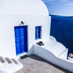 colorful travel nature architecture greece