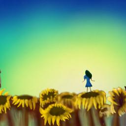 dcbridge drawing flower colorful