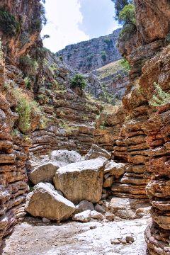 greek photography rhodos canyon mountains