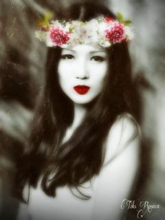 gdflowercrown oldphoto nature emotions art