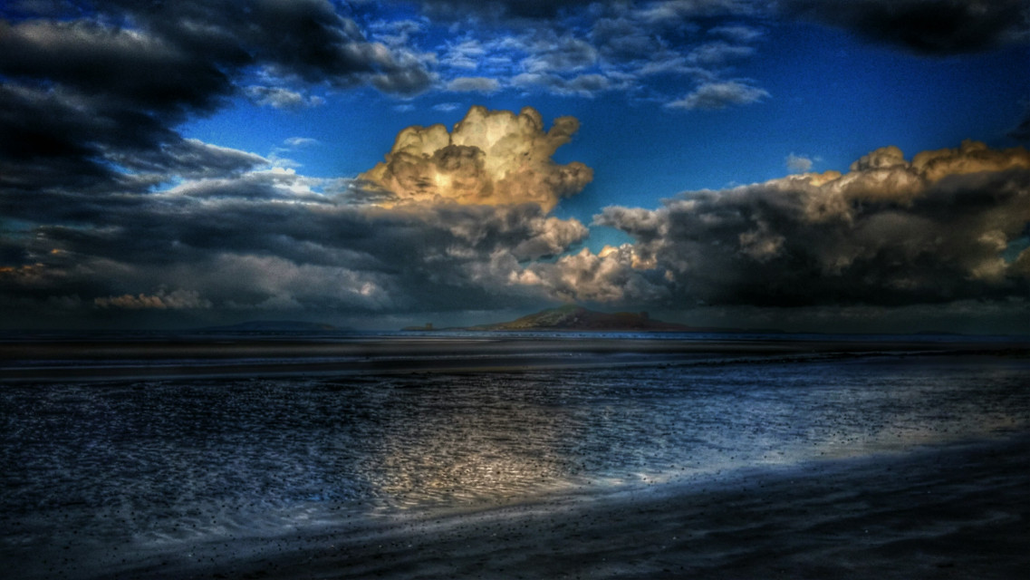 #nature #ireland #summer #hdr #clouds   #freetoedit