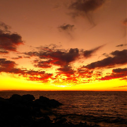 sunset winter twilight evening colourfulsky