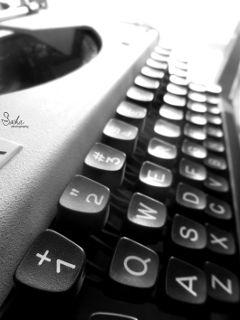 typingmachine typing light old retro