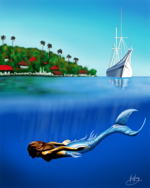 #wdpshowmethesea #dcboat http://youtu.be/hbtXaMY_D1g #colorful #colorsplash #nature #summer #artwork #art #drawing #artistic #creative
