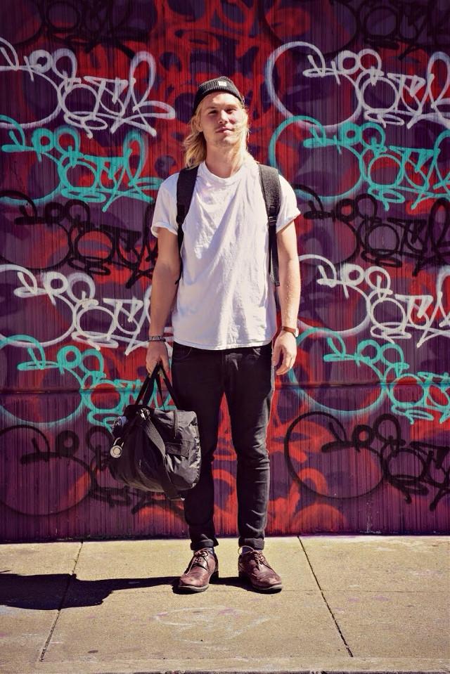 Lenny   #StreetPulseSF  #SanFrancisco #Fashion #StreetStyle #Style #StreetFashion #Larkin