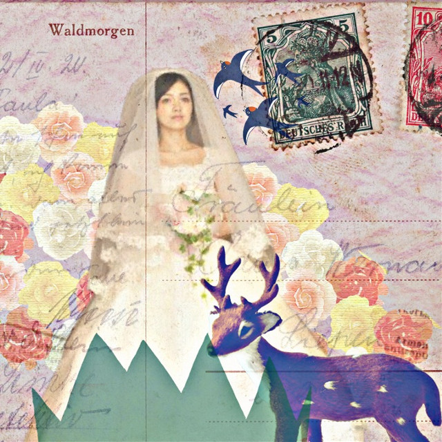 Edited by me. This bride is my niece:) #collage
