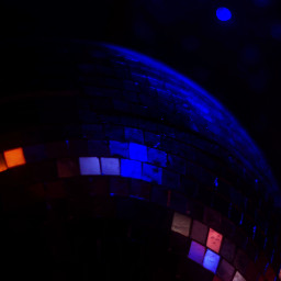 blue dance relaxing mirrorball lawrencekansas