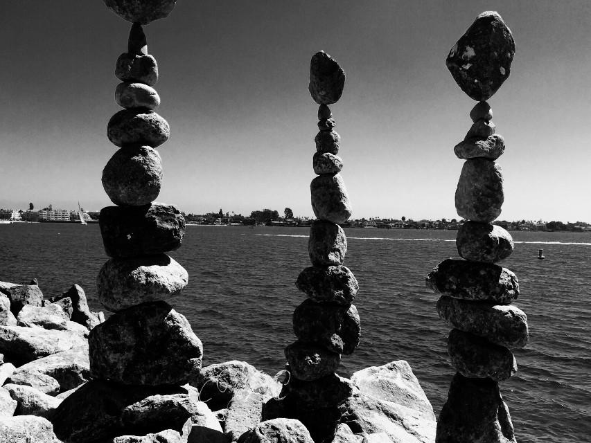 #ruleofthirds #blackandwhite #horizon #nature