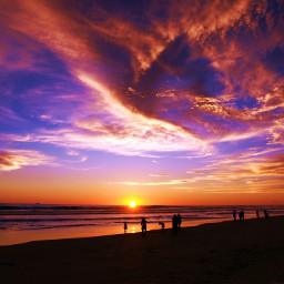sunsetsilhouette saturated travel beachphotography photography
