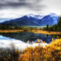 photography nature colorful canada alberta