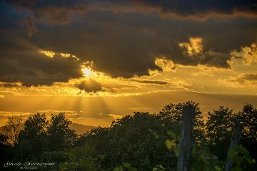 nature sunset hdr photography